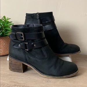franco sarto • buckle bootie